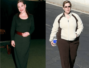 Carnie Wilson Fat and Thin
