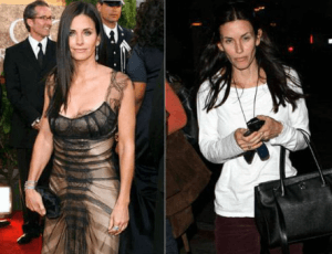 Courtney Cox, Super Thin-Normal healthy