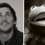 Christian Bale and Kermit the Frog — Brothers from a different Mother!