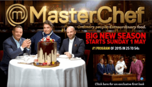 Masterchef Austalia Season 8 Starts May 1 2016