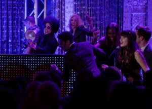 Prince and Zooey Deschanel Singing Together on New Girl Video Fall In Love Tonight