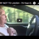 Grandma Freaks Out in driverless Tesla. You will laugh