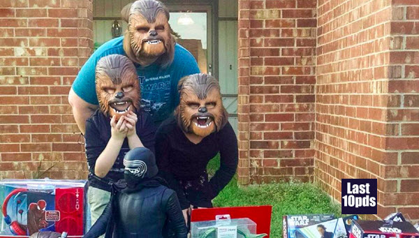 Chewbacca Mask Video Lady Goes Viral