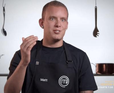 Matt Sinclair Masterchef Australia 8